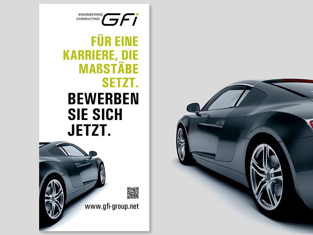 PR|DESIGN gestaltet für GFi