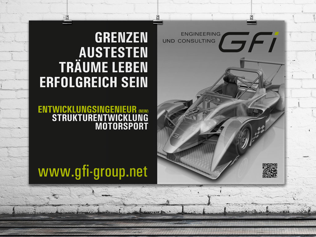 Anzeigenwerbung für GFi