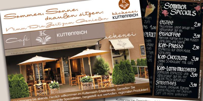 Den Sommer genießen im Café Kuttenreich in Ingolstadt
