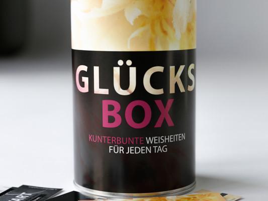 GLÜCKSBOX für Freunde. Kunden. Geschäftspartner.