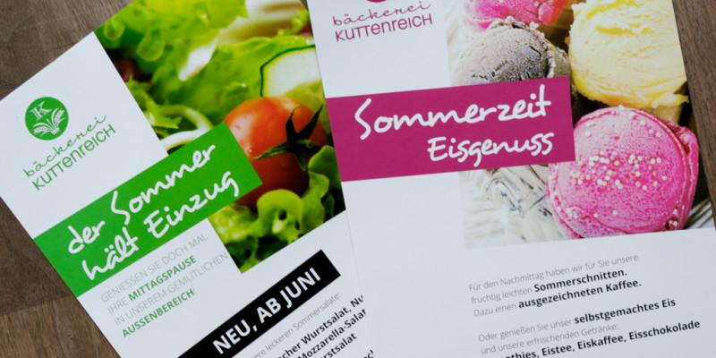 Schöne Sommerzeit bei der Bäckerei Kuttenreich in Ingolstadt