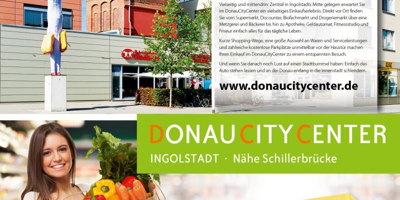 Neues Look & Feel für das DonauCityCenter Ingolstadt