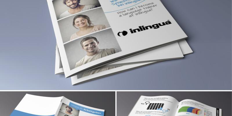 Inlingua Broschüre – Sprechen, verstehen, erleben