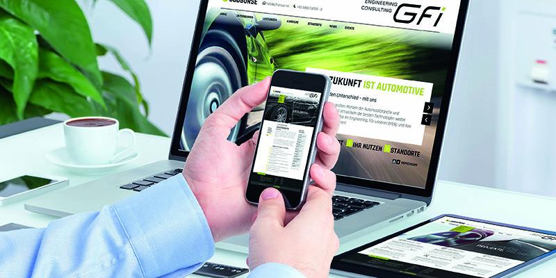 Neue Website für Kunden aus der Automotive Branche