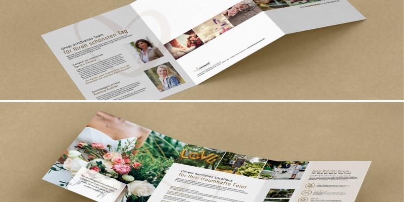 Imagebroschüre – Hochzeit feiern in der Birkenheide