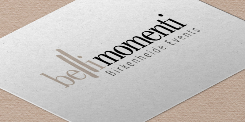 Neues Logo für bellimomenti Birkenheide Events