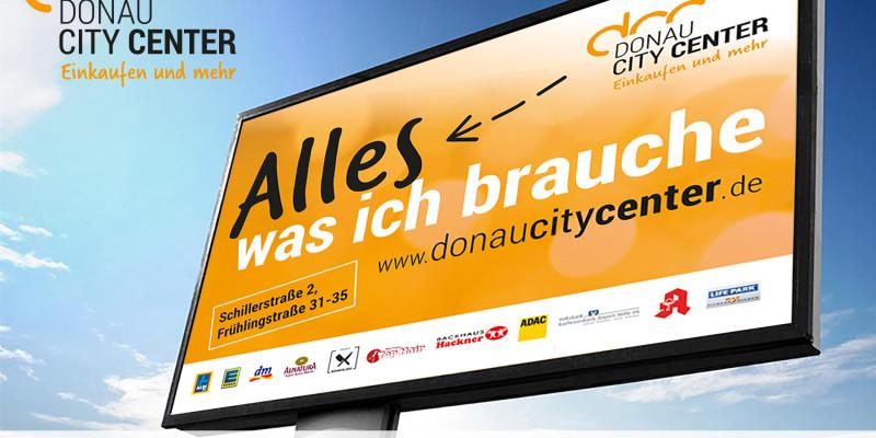 Plakatwerbung in Ingolstadt