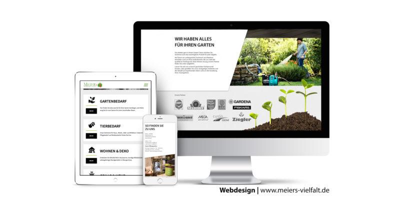 Webseite erstellen für Meiers Vielfalt in Reichertshofen