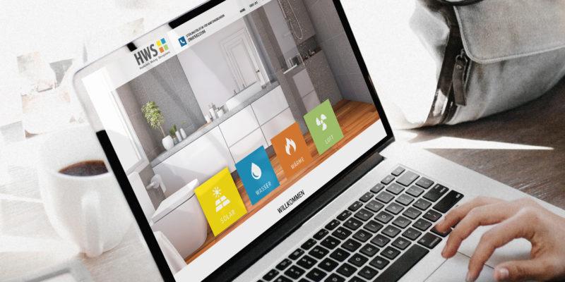 Webseite erstellen für HWS GmbH in Ingolstadt