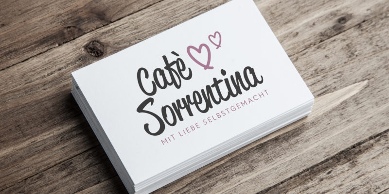 Cafe Sorrentina Logoerstellung