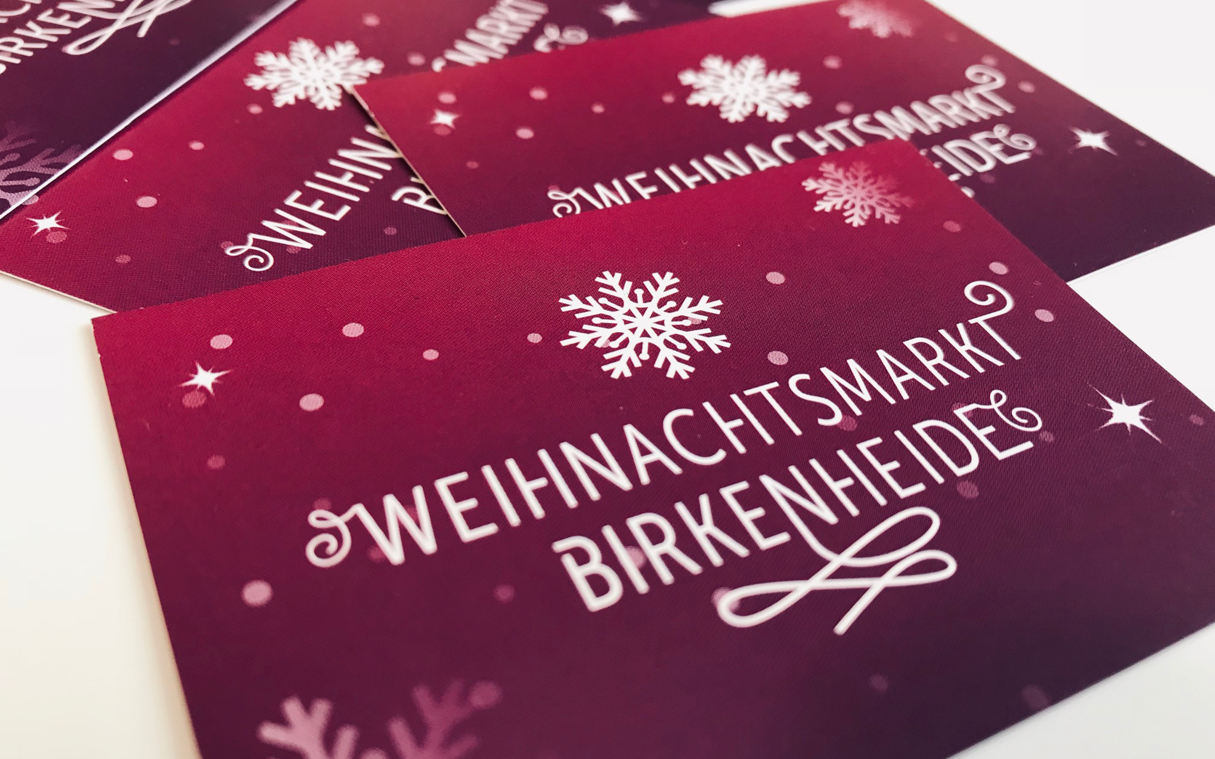 Birkenheide Weihnachtsmarkt Corporate Design