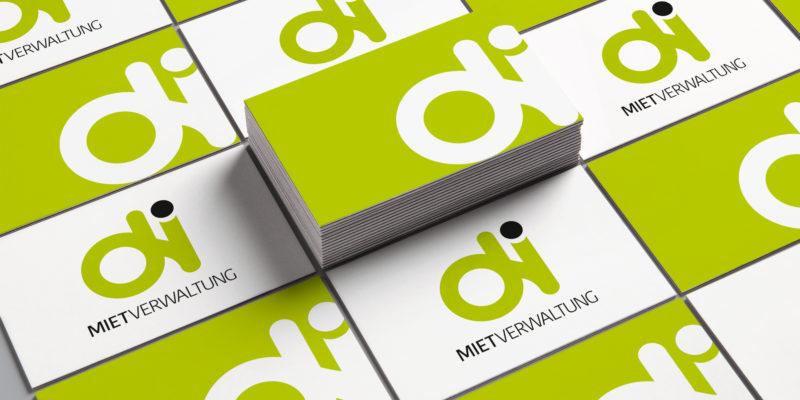 di Mietverwaltung – Logodesign