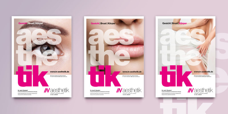 IN aesthetik – Anzeigenkampagne