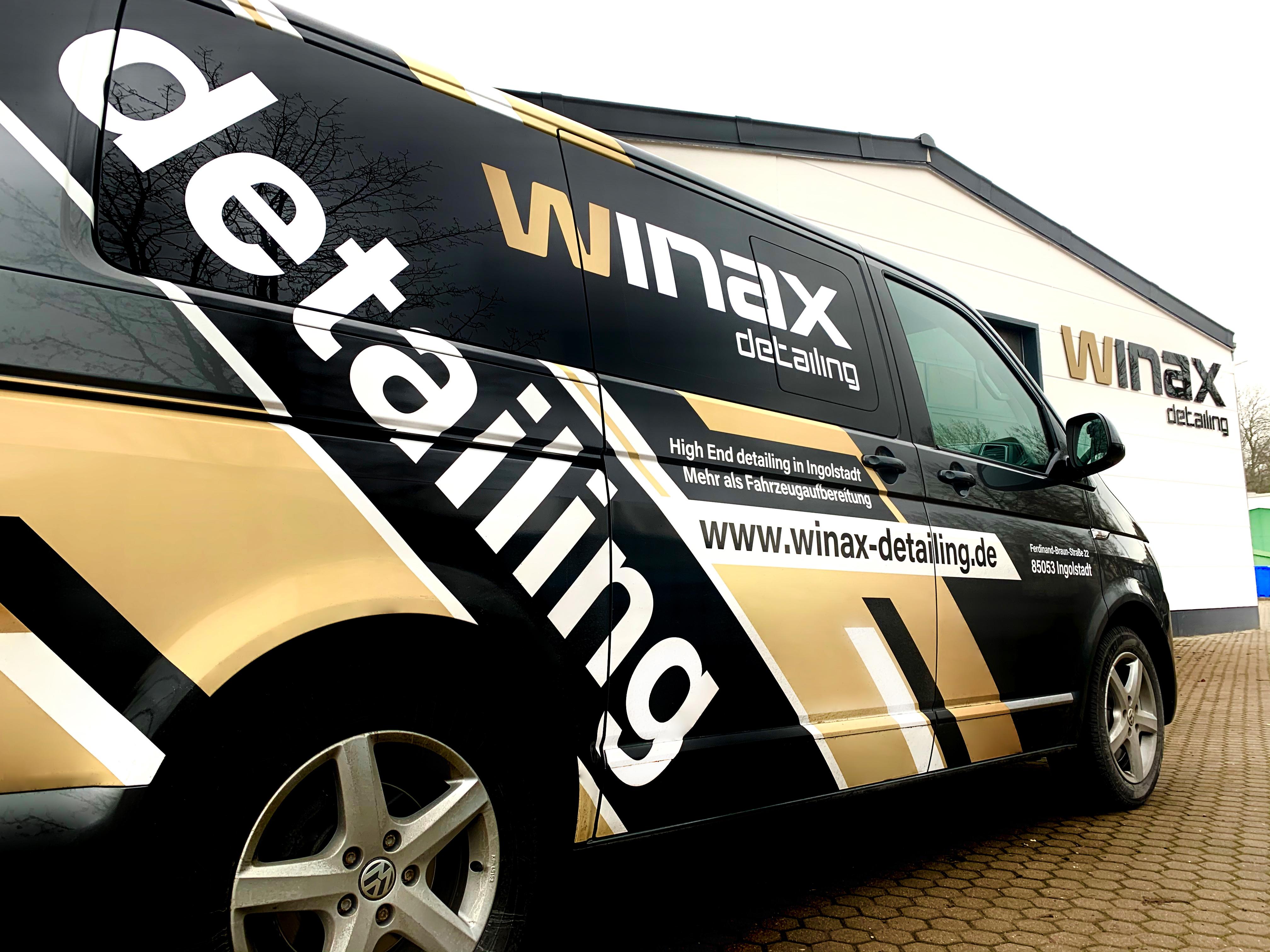 Fahrzeuggestaltung, winax detailing – Flott unterwegs