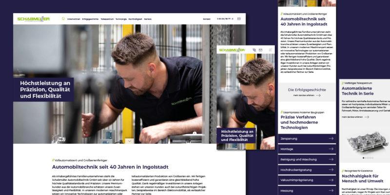 Schabmüller Automobiltechnik Webseite